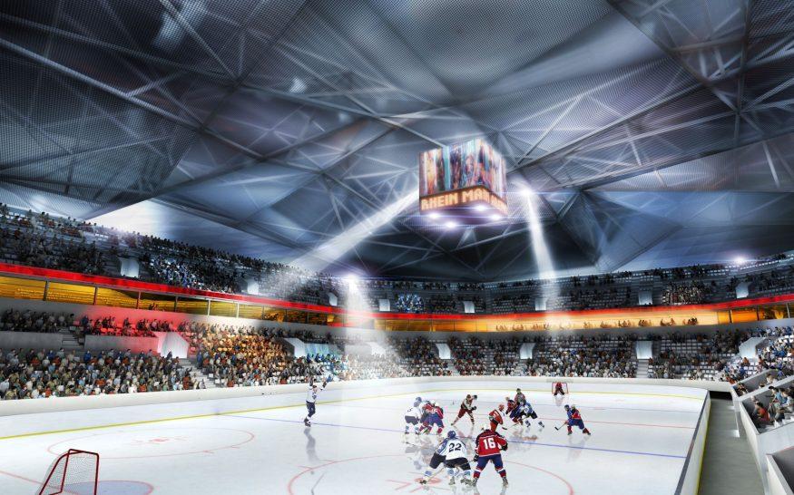 Rhein Main Arena interior