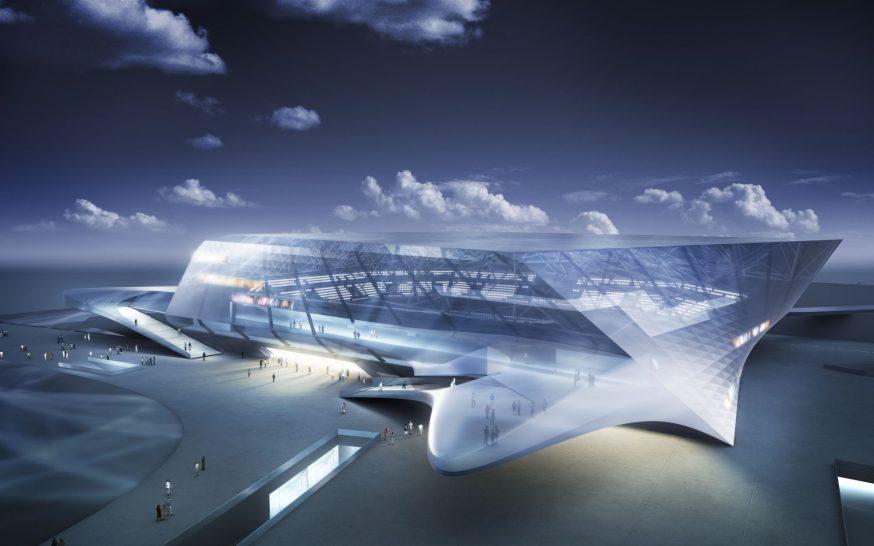 Rhein Main Arena axo