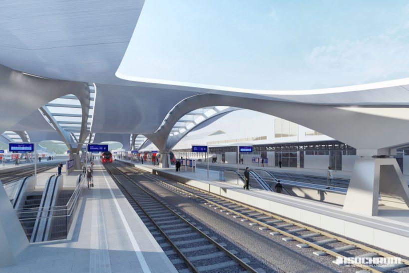 Bahnsteig Graz