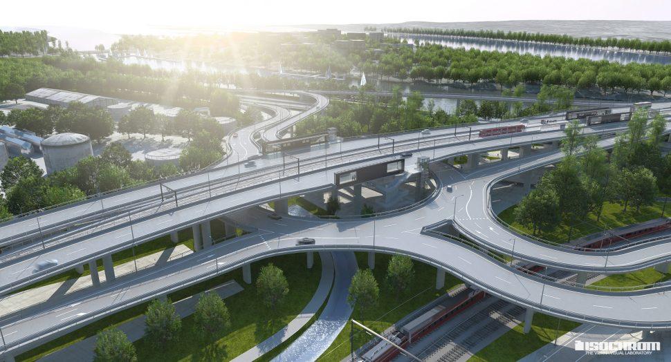 infrastructural rendering
