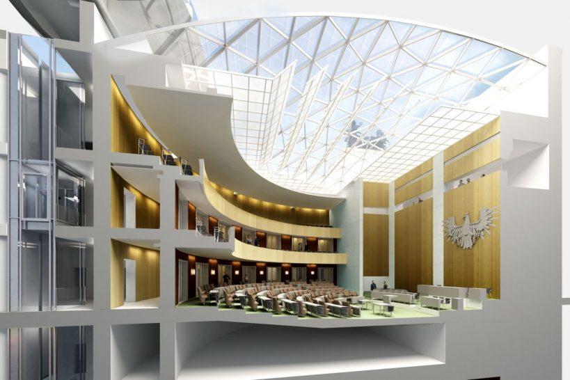 Parlament Plenarsaal