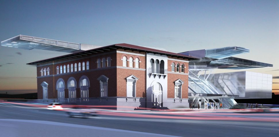 Akron Art Museum street view