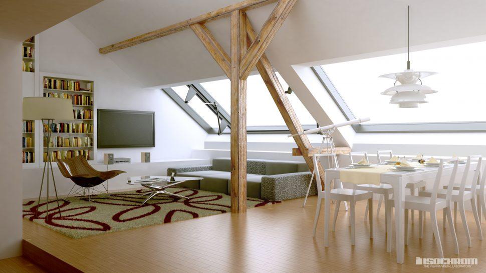 attic rendering