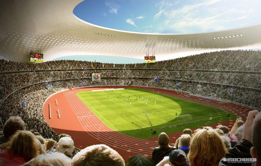 stadion rendering