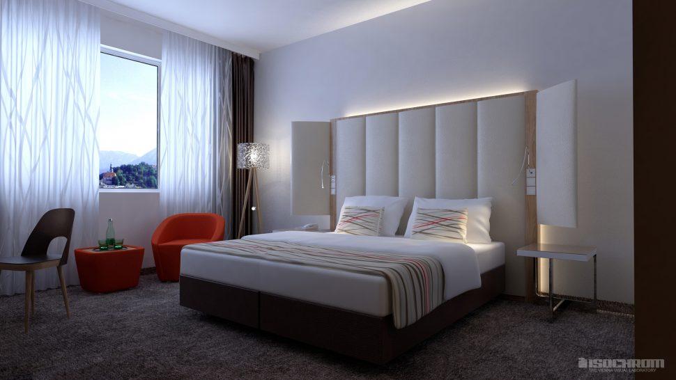 hotel archviz