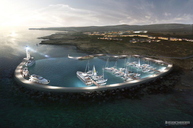 marina rendering